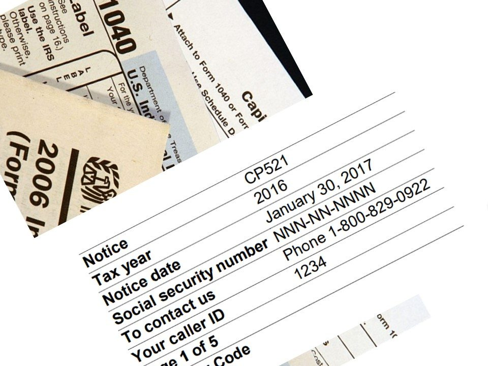 What is an IRS CP-521 Notice?